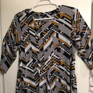 Multicolored Alfani Woman tunic. Plus size 1X